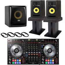 pioneer home theater subwoofer pioneer ddj sz2 flagship 4 ch mixer u0026 serato dj controller with