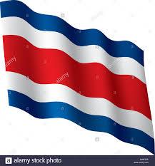 Costarican Flag Costa Rica National Flag Stock Photos U0026 Costa Rica National Flag