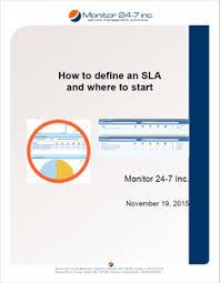 Help Desk Service Level Agreement Define A Sla Service Level Agreement