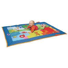 tappeto di attivit罌 touch taf toys giocattolo eurekakids
