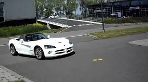 dodge viper srt 10 white mamba start up youtube