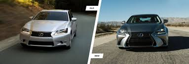 lexus es vs audi a6 facelifted lexus gs old vs new compared carwow