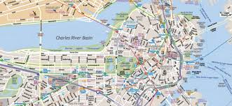 Printable Map Of New York City by Map Of Boston Massachusetts Interactive And Printable Maps