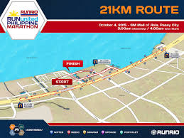 United Route Map by 2015 Run United Philippine Marathon Route Maps Activehealth