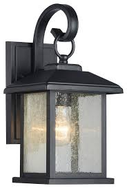 Outdoor Wall Sconce Mira Outdoor Wall Sconce Lantern Lamp Black Traditional