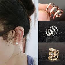 ear cuffs for sale philippines 2 unids set vintage perforación oído clip no aretes con
