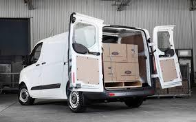 all new ford transit custom u0027s smart storage solutions