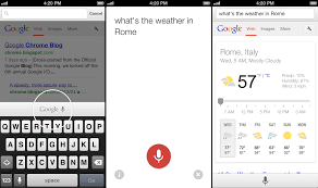 voice search app for android voice search coming to ios chrome for android gets an update