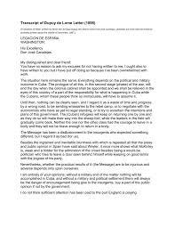 translation of letter written by senor don enrique dupuy de lôme to