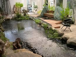 interior design koi fish pond design with indoor