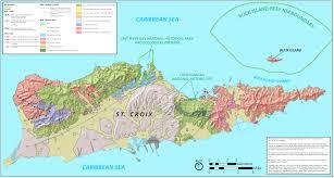 map st croix us islands map major tourist attractions maps about usvi