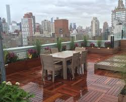 nyc rooftop decks gardens roof decks new york roofscapes