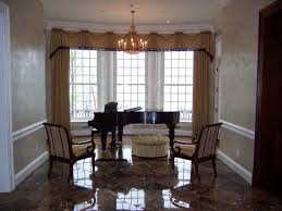 window treatments for dining room dining room curtains dining room