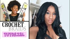 weave no leave out hairstyle brazillian say what no leave out crochet braids tutorial youtube