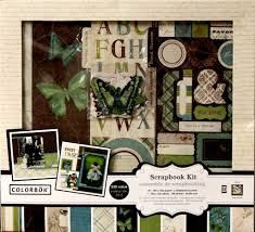 colorbok scrapbook colorbok 12 x 12 anthology scrapbook kit scrapbookfare
