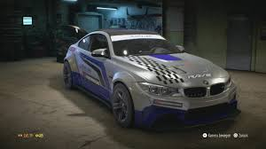need for speed bmw need for speed 2015 bmw m4 tuning