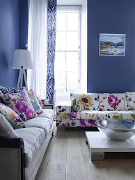 Amazing Living Room Color Schemes Decoholic - Blue living room color schemes