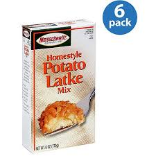 potato pancake mix manischewitz manischewitz homestyle potato latke mix 6 oz pack of 6