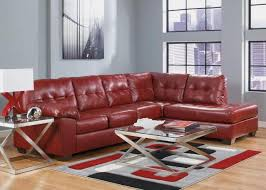 Red Sectional Sofas How To Choose A Coffee Table For A Sectional With Chaise U2013 The