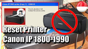 resetter ip1900 win 7 ink absorber full fix reset canon ip1800 1980 youtube