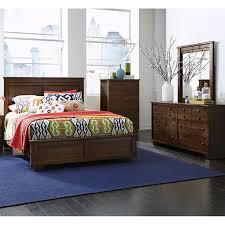 diego 4 piece queen bedroom set in dark brown nebraska furniture