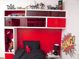 storage headboard for a kid u0027s room hgtv