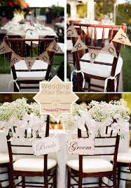 Bride And Groom Chair Beautiful Chair Decorations Wedding Ideas The Wedding Of My