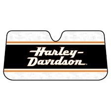 harley davidson accordion windshield sunshade 003726r01 the home