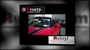 Static Cling Window Tint Windshield Tint Visor Strip Rvinyl Blackout Static Cling Youtube