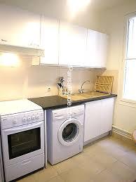 cuisine avec machine à laver cuisine avec lave linge cuisine location vacances appartement