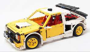 renault lego rally car the lego car blog