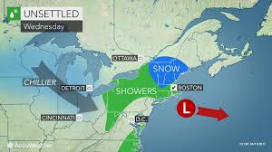 snow ice and rain slow travel in northeastern us