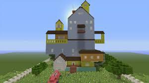 Minecraft House Map Minecraft Xbox Murder Mystery Hello Neighbor Game Newscast
