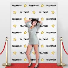 Celebrity Halloween Birthdays by Amazon Com Hollywood Star Themed Step And Repeat Backdrop For Red