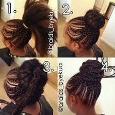 african fish style bolla hairstyle with braids cornrow updo pinteres
