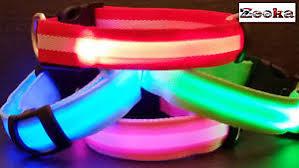 Light Up Dog Collar Bright Led Flashing Usb Rechargeable Light Up Dog Collar