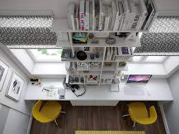 ravishing two person desk home office with white office desk and