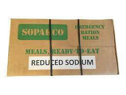 amazon com sopakco mre meals ready to eat case pack of 14 for