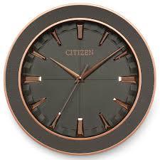 citizen wall u0026 desk clocks with designs based on watch dials