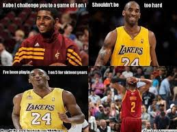 Kyrie Irving Memes - kobe vs kyrie irving humor pinterest kyrie irving kobe and nba