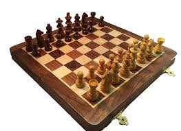 Chess Board Amazon Amazon Com Chesscentral U0027s Magnetic Travel Wood Chess Set Toys