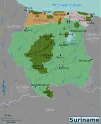 Cdc Malaria Map Suriname U2013 Travel Guide At Wikivoyage