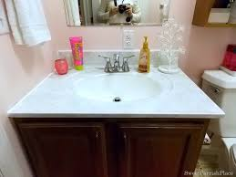 bathroom sink makeover with giani granite kit u2022 sweet parrish place