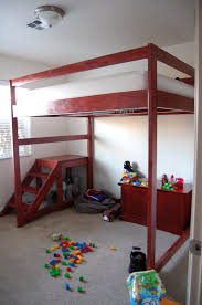 Free Plans For Full Size Loft Bed by Diy Loft Bed Jaimesews