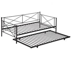 Metal Framed Sofa Beds New Size Metal Framed Daybed With Trundle Metal Sofa Bed