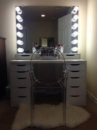 Vanity Mirror With Lights Makeup Vanity Beautiful Bedroom Vanity With Lights Images