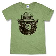 Wild Fire Tees by Amazon Com Hank Player U0027official Smokey Bear U0027 Men U0027s T Shirt Clothing