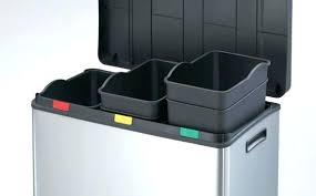 poubelle de tri selectif cuisine poubelle de tri cuisine poubelle a pacdale pour tri saclectif