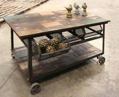 kitchen island trolleys zinc top possum belly for an island furniture
