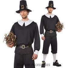 cl517 pilgrim colonial mens thanksgiving fancy dress historical